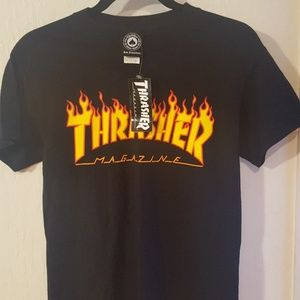 THRASHER Flame logo T-Shirt🔥🔥🔥NWT
